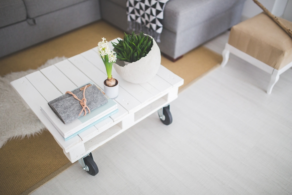 coffee table pallet ideas