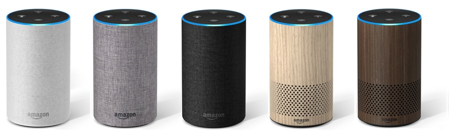 amazon echo finishes